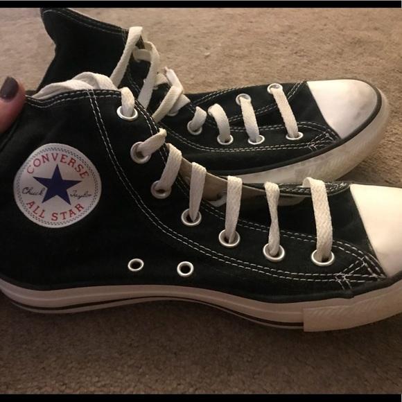 Black Converse Size 5 Women But Fits