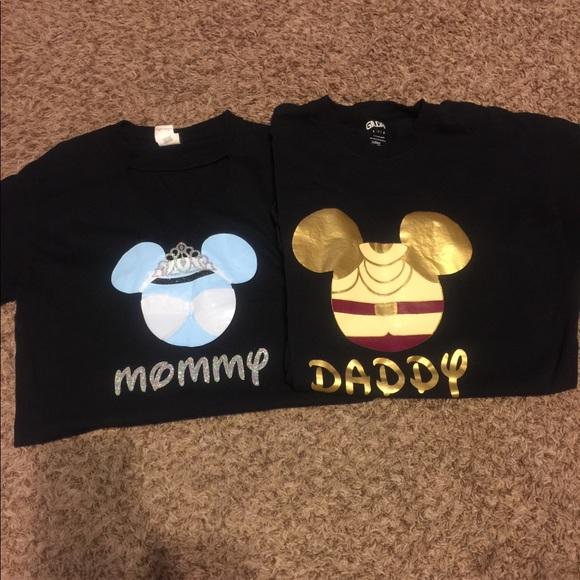 eeadddf5b Handmade Mommy and Daddy Disney shirts. M_59fa865c2599fe5fde0056e3