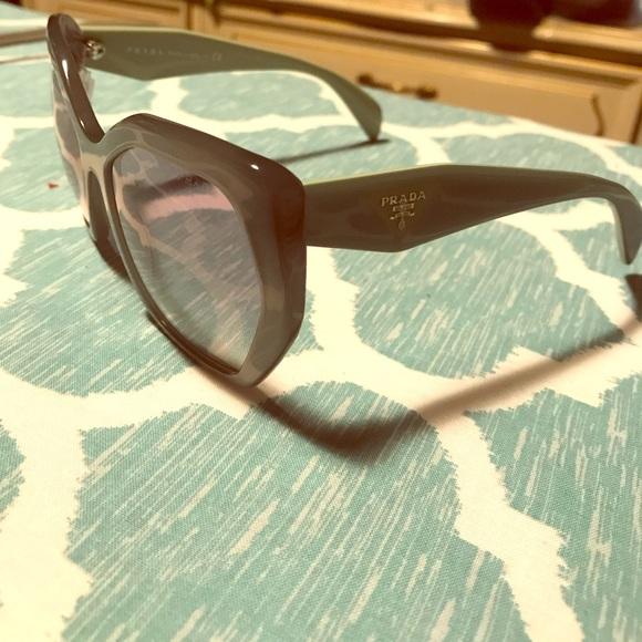 21d07b695fc Prada SPR 16R sunglasses green