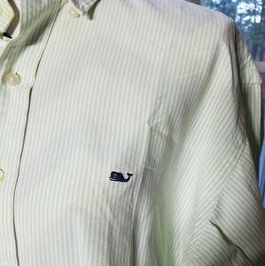 VINENYARD VINES  Button Down  Whale Shirt
