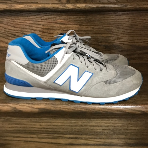 grey new balance trainers mens size 12