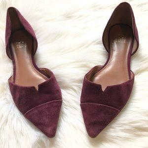 Vince Camuto Purple Flats