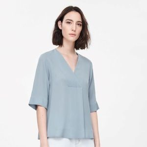 Great condition crossover vneck top from COS
