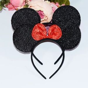 Accessories - Sequin Mickey & Minnie Mouse Headbands