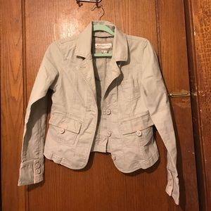 Maurice's Tan Utility Jacket
