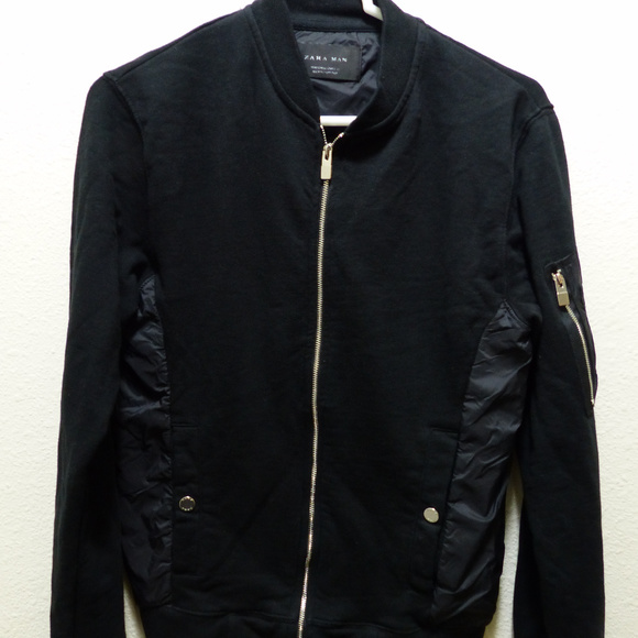 419268075 Zara Man Bomber Jacket