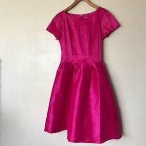 Shabby apple magenta flounce dress