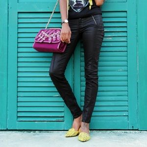 ShoeDazzle Jeans - Black Skinny Jeans