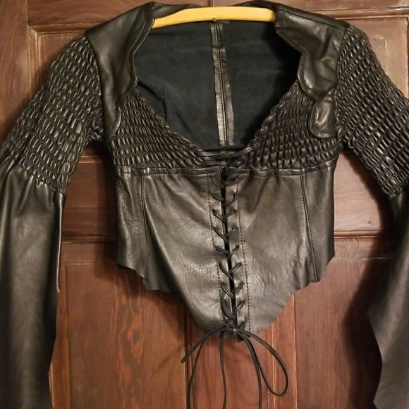 VERSAILLES BOUTIQUE BROOKLYN NY Tops - SALE!VERSAILLES BOUTIQUE!HANDMADE LEATHER BUSTIER