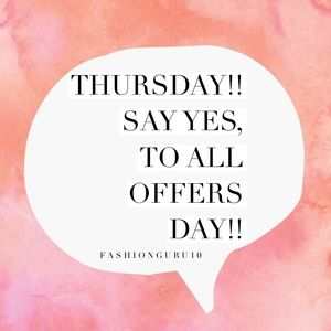Other - It's THURSDAY!!! A click away from SCORING!