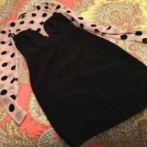 Solemio Dresses - 🎉HP🎉Silencio Black Polka Dot Bodycon Dress