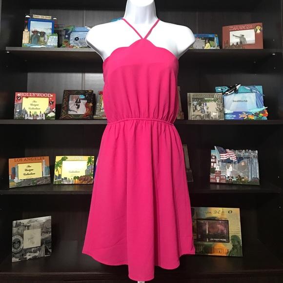 Monteau Dresses & Skirts - ✔️NWT Monteau Pink Halter Dress
