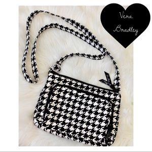Vera Bradley NWOT Houndstooth Crossbody Bag