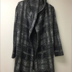 RACHEL ROY everyday wool with hood long jacket