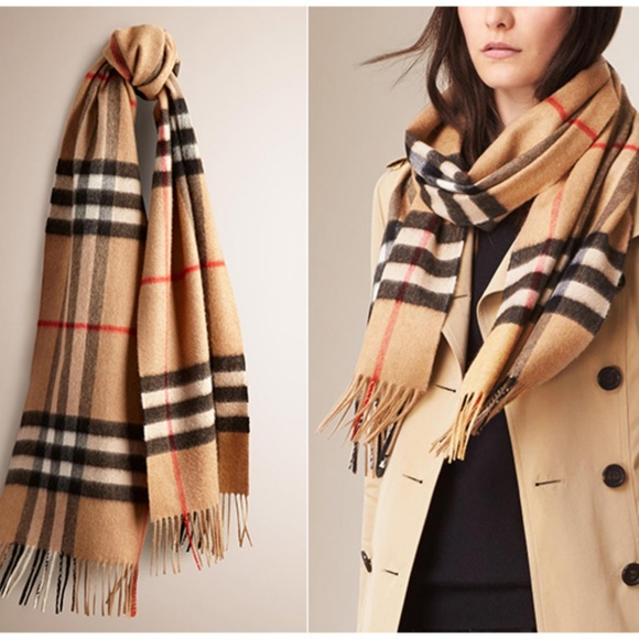 7ce4b00f5704 Burberry Accessories - Burberry Heritage check cashmere scarf