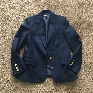 Tailored Vintage Navy Blazer
