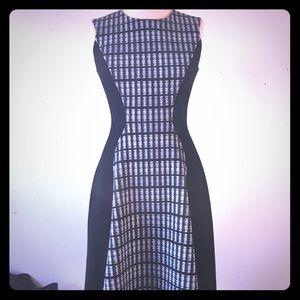 Authentic Lela Rose black/white dress ❤️🍂