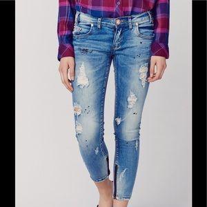 One Teaspoon Freebird II Blue Blonde Jeans