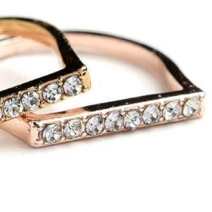 ❗️1 LEFT  Rose Gold Ring Sz 8