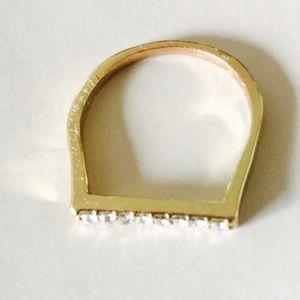 ❗️1 LEFT Boho Chic Stone Ring Sz 9