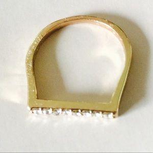 ❗️1 LEFT Chic Stone Ring Sz 8