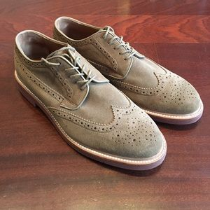 JCrew Kenton Suede Oxford Dress Shoes, Men's EUC