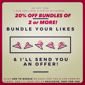 20% OFF BUNDLES OF 2+