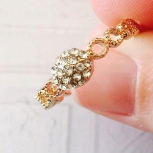 ❗️1 LEFT Boho Braided Stone Ring Sz 8