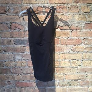 lululemon athletica Tops - Lululemon black tank, sz 4, 55347