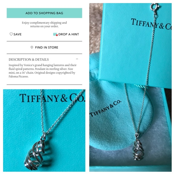bd3e44ac5 Tiffany & Co. Jewelry | Paloma Venezia Luce Pendant | Poshmark