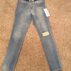 NWT wildfox distressed jeans