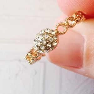 ❗️1 LEFT Boho Braided Stone Ring Sz 7