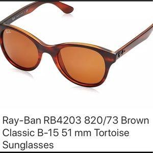007f1b280e Ray-Ban Accessories - Ray-Ban HIGHSTREET Shinny Havana