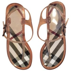 Burberry Sandals Jelly Women Sandals