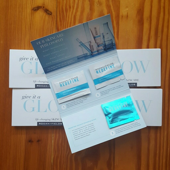 5 Rodan and Fields Facial Packs with the new serum NWT