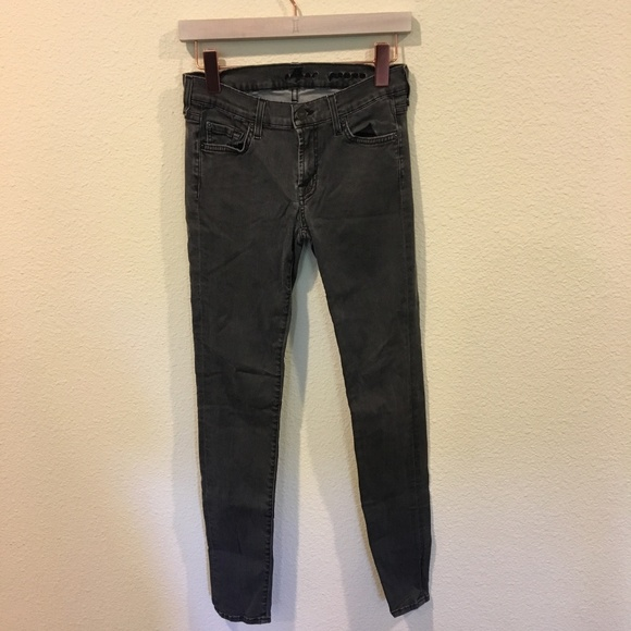 7 For All Mankind Denim - 7 For All Mankind gray jeans