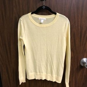 Yellow lightweight sweater