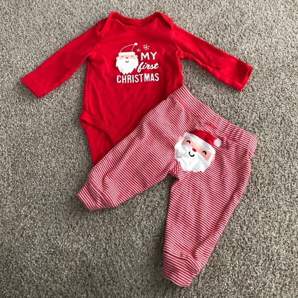 5ec168184 Carter's Matching Sets | Carters My First Christmas Outfit | Poshmark