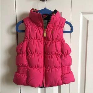 Ralph Lauren little girls revisable vest