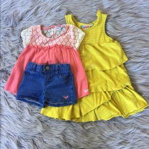 Bundle🙌 2pc Roxy outfit and Roxy dress