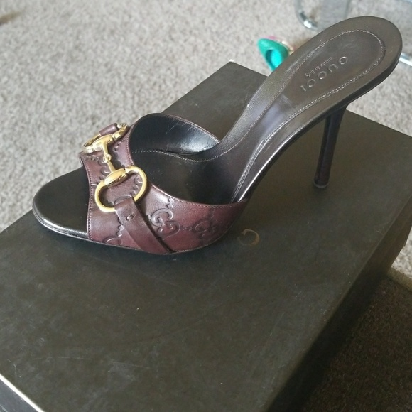 c21bb82d813 Gucci Sand Pelle S Cuoio 2019 heels