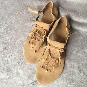 Moccasin style sandal