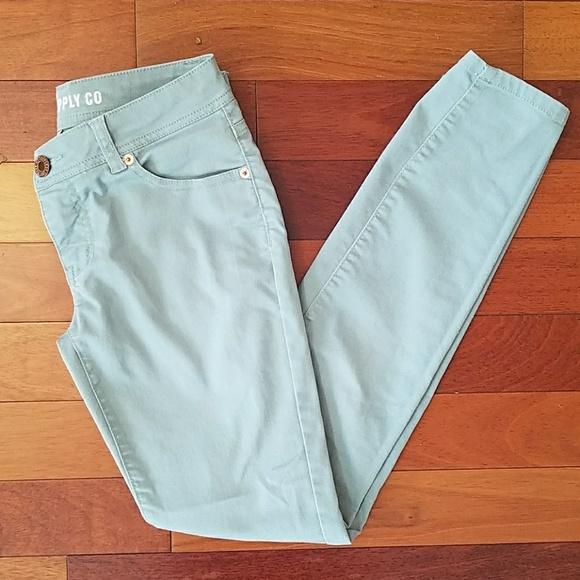 Mossimo Supply Co Denim - Mossimo Skinny Light Blue Jeans