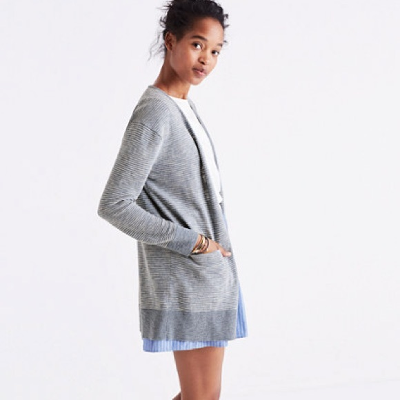 68251701bc0 Madewell Sweaters - Madewell summer ryder cardigan sweater in stripe