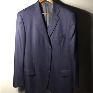 Ermenegildo Zegna Navy Blazer Sport Coat