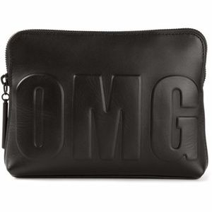 Phillip Lim 3.1 Black OMG Clutch Purse Pouch