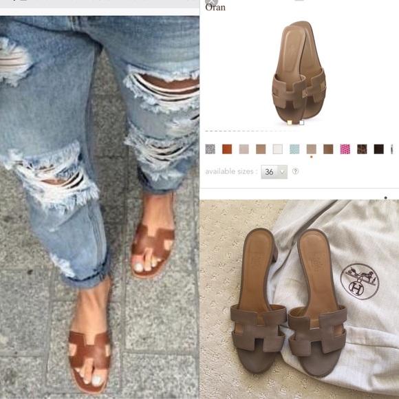 9bec7bcbd6a2 Hermes Shoes - Hermès Oran sandals