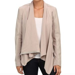 Price Firm! Blank NYC Draped Vegan Leather Jacket