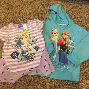 Other - Frozen hoodie and frozen shirt