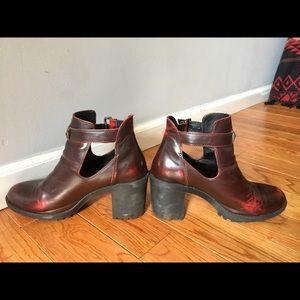 Zara Chelsea Boot Chunky Heel